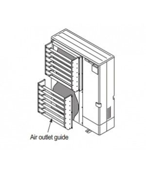 Mitsubishi Airflow Guide for all MXZ series condensers