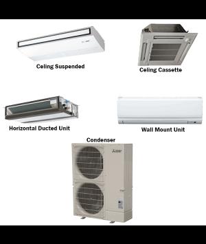 Mitsubishi P-Series 18,000 BTU Ductless Heat Pump Air Conditioner