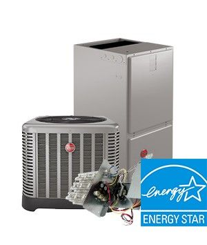 Rheem 5 Ton 16 SEER Electric Heat System - Energy Star