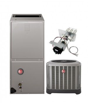 Rheem 2.5 Ton 14 SEER Air Conditioning System with Electric Heat