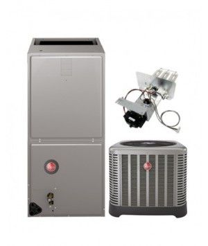 Rheem 4.0 Ton 14.5 SEER Air Conditioning System with Electric Heat