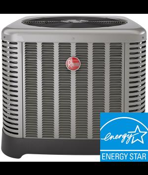 5 Ton AC Unit - Rheem 16 SEER Cooling Condenser - RA1660AJ1NA