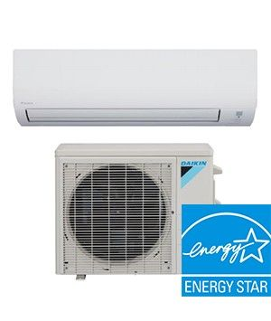Daikin Aurora Series 9K BTU 20 SEER Heat Pump System Enhanced Capacity (-13°) ENERGY STAR