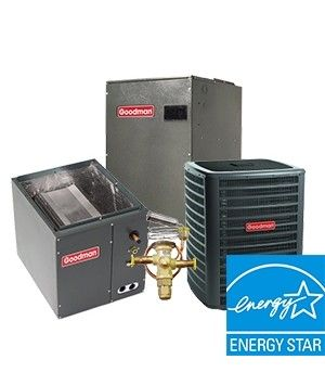 Goodman 5.0 Ton 17 SEER Two Stage Cooling Only System Upflow ENERGY STAR