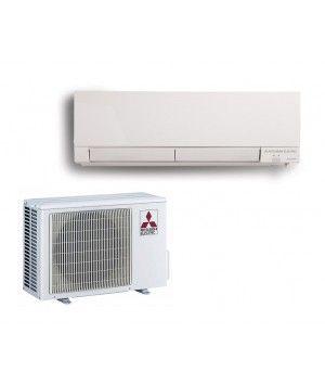 Mitsubishi 15,000 BTU Heat Pump Hyper Heat 22 SEER Ductless Mini Split System