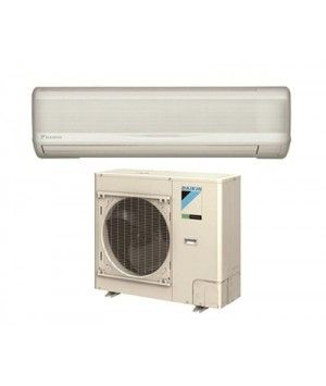 DAIKIN SkyAir 30K BTU 19.3 SEER Heat Pump System with wall mount - Commercial