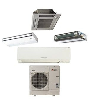 Mitsubishi P-Series 30,000 BTU Ductless Heat Pump Air Conditioner