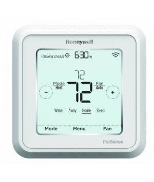 Honeywell 3 Heat 2 Cool Lyric T6 Pro Wi-Fi Programmable Thermostat