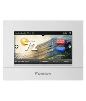 DAIKIN Thermostat Programmable, Commercial, with humidification & dehumidification control 4H/2C