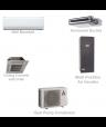 Mitsubishi Mini Split Ductless Heat Pump AC Commercial System