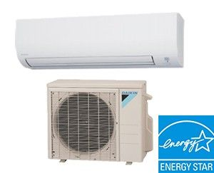 Mini Split AC Unit - Daikin 24,000 BTU Ductless Cooling Only AC System - 18 SEER