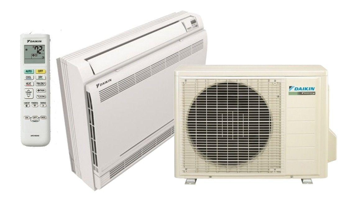 DAIKIN 15K BTU 20 SEER Floor Mount Heat Pump System