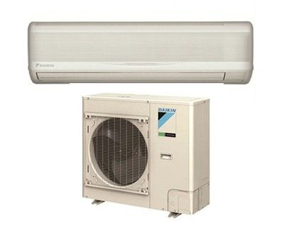 DAIKIN SkyAir 36K BTU 17.9 SEER Heat Pump System with wall mount - Commercial