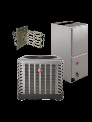 Rheem 15 SEER 3 Ton Heat Pump System