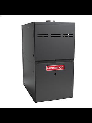 Goodman Gas Furnace - 80,000 BTU 80% Natural Gas Or Propane Single Stage Upflow/Horizontal - Ultra Low Nox CA Only - GMES800805CU