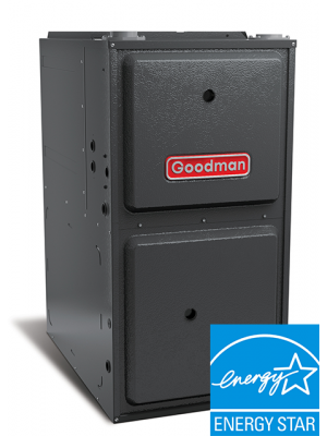 Goodman Gas Furnace - 120,000 BTU 96% Gas Furnace Or Propane Two Stage Upflow/Horizontal - GMEC961205DN