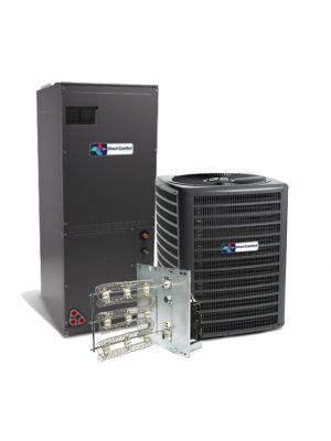 Direct Comfort 3.5 Ton 16 SEER Single Stage Air Conditioning System with Electric Heat