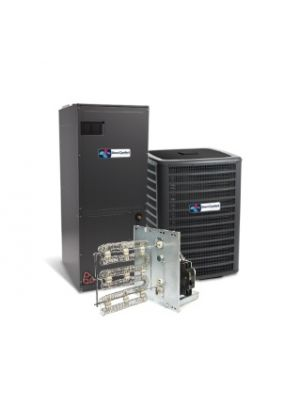 Direct Comfort 3.0 Ton 16 SEER Heat Pump System with Variable Speed Air Handler Two Stage