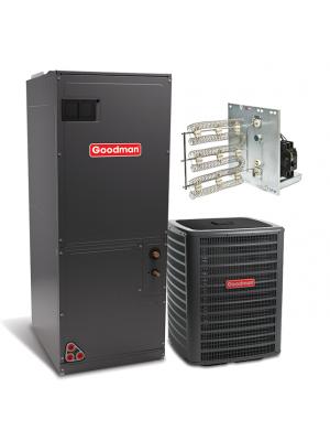 Goodman 2.5 Ton 15 SEER with Electric Heat Split System