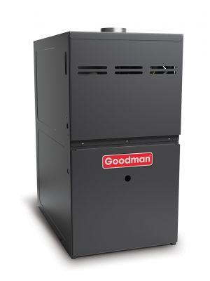 Goodman Gas Furnace - 80,000 BTU 80% Natural Gas Or Propane Two Stage Upflow/Horizontal - GMVC80803BN
