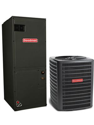 Goodman 2.0 Ton 16 SEER Single Stage Air Conditioning System with Electric Heat