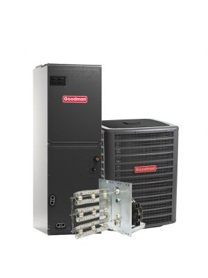 Goodman 4.0 Ton 13 SEER Air Conditioning System with Electric Heat