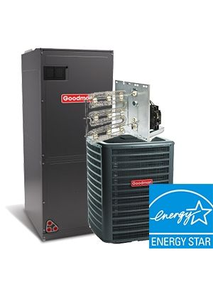 Goodman 3.0 Ton 16 SEER Two Stage Electric Heat System ENERGY STAR