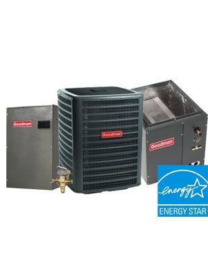 Goodman 2.0 Ton 19 SEER Two Stage Cooling Only System Upflow with Variable Speed Blower Energy Star