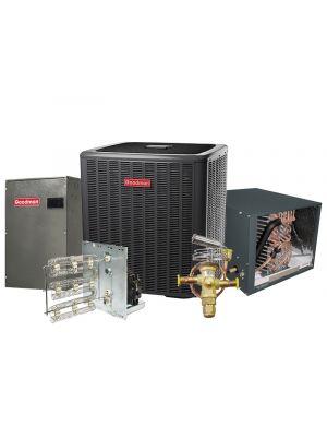 Goodman 5.0 Ton 17 SEER Heat Pump Two Stage Variable Speed Split System - HORIZONTAL