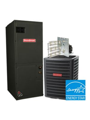 Goodman 1.5 Ton 16 SEER Heat Pump System STAR ENERGY