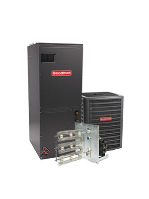Goodman 2 Ton 16 SEER Heat Pump System Two Stage with Variable Speed Air Handler