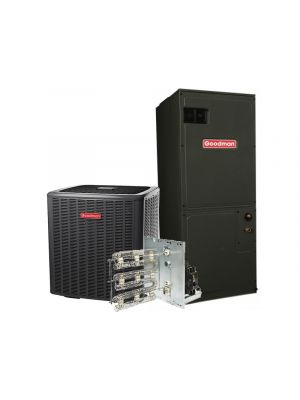 Goodman 4 Ton 18 SEER Heat Pump System Two Stage with Variable Speed Air Handler