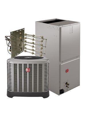 Rheem 2.0 Ton 14 SEER Heat Pump System