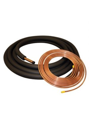 Copper Refrigerant Lineset and Insulation for 3.0 - 5.0 Ton Systems 3/8