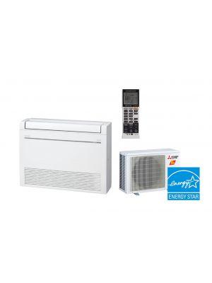 Mitsubishi 12K BTU 25.5 SEER Hyper Heat Floor Mount System