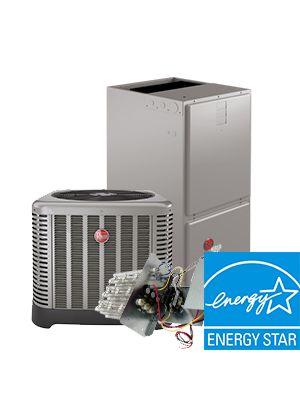Rheem 5 Ton 16 SEER Electric Heat System - Energy Star