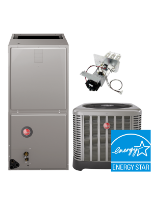 Rheem 4.0 Ton 16SEER Air Conditioning System with Electric Heat