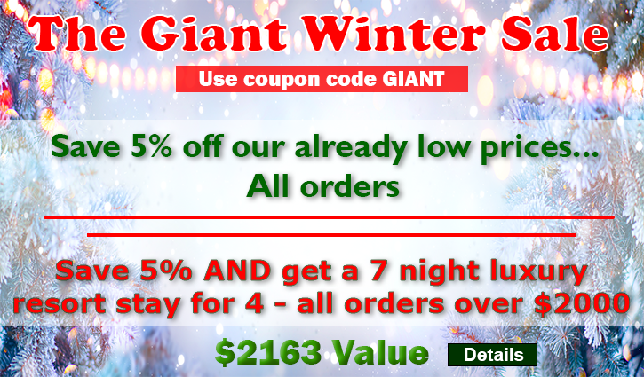 AC Direct Coupon Code Giant Winter Sale Image