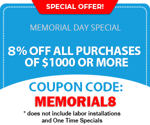 Memorial Day Coupon Code MEMORIAL8