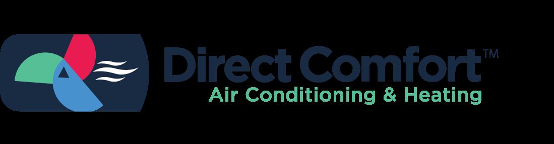 Direct Comfort logo - 1.5 ton and 2 ton AC unit