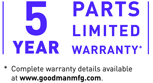 5 Years Limited Warranty